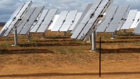 Raygen concentrated PV system
